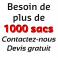 Sac sous vide conservation 400x500 PA/PE 85µ (x100)
