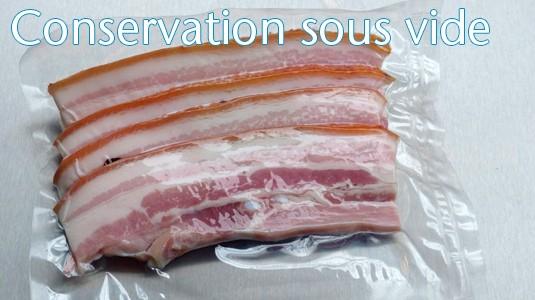 Conservation sous vide