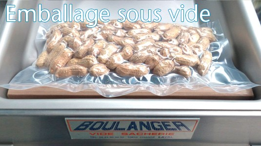 Emballage sous vide